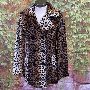 Yoki Collection Animal Print Coat